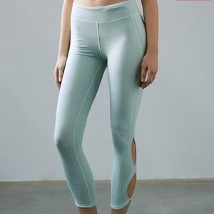 Free People Movement Colorblock Seafoam Leggings